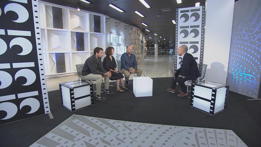 Video 90' ČT24 - Začíná filmový festival v Karlových Varech