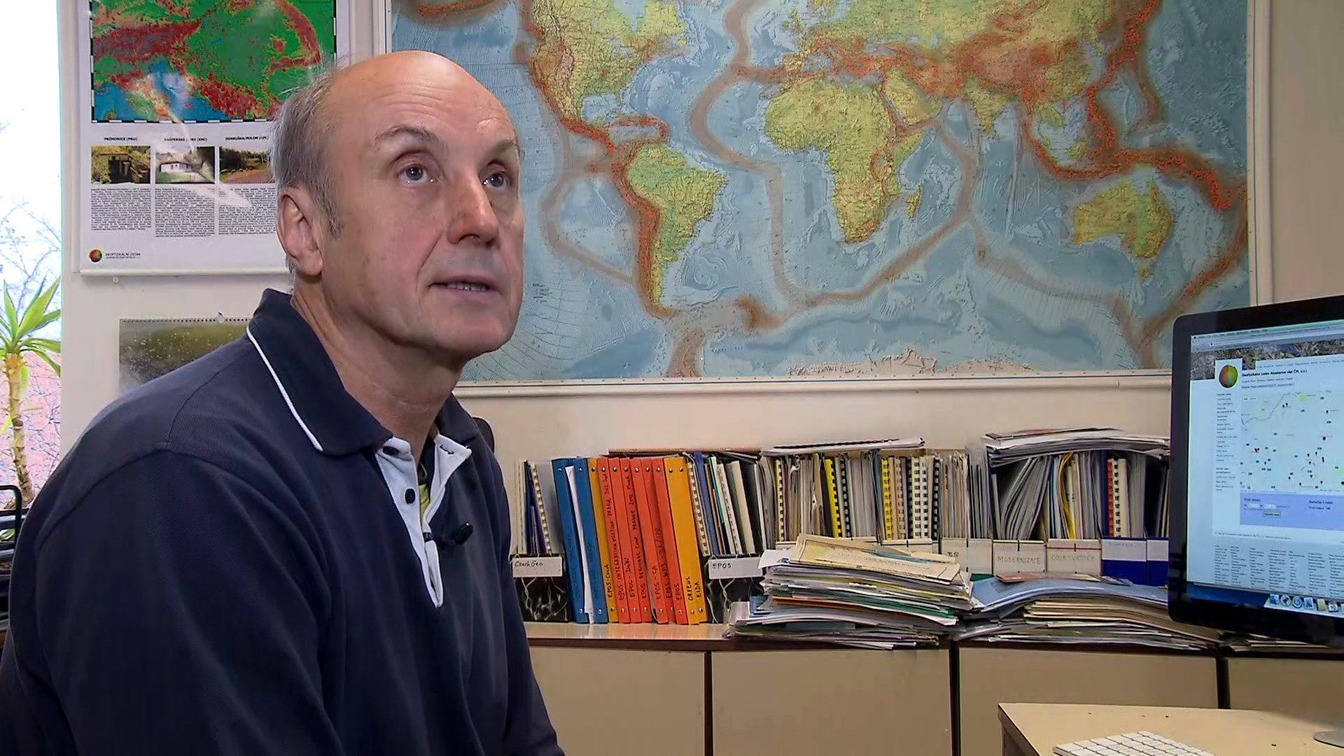 Video Jan Zedník: Zemětřesní v této oblasti je vzácné, ale ne nemožné