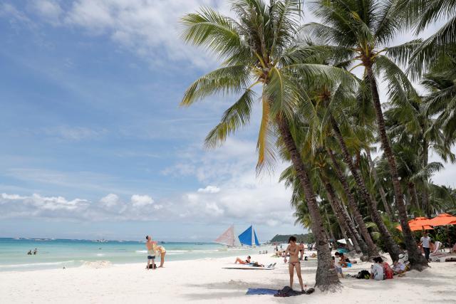 Filipínský ostrov Boracay