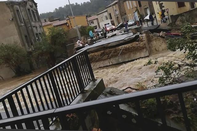 Jih Francie zasáhly bleskové povodně