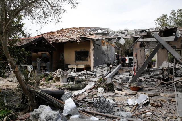 Raketa vypálená z Gazy zasáhla dům v Izraeli