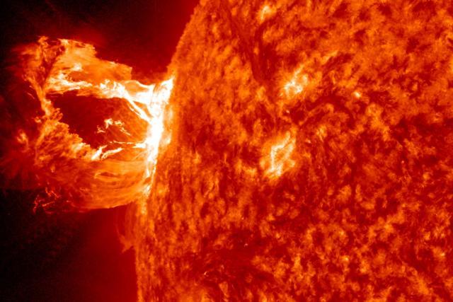 Erupce Slunce