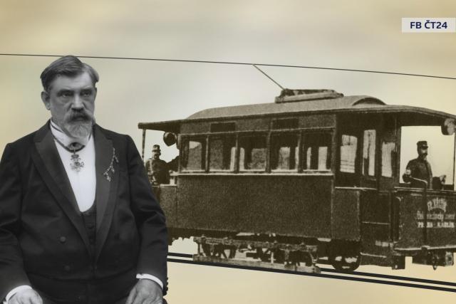 Elektrická tramvajová dráha Františka Křižíka