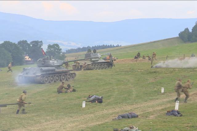 Vojenská akce Cihelna 2018