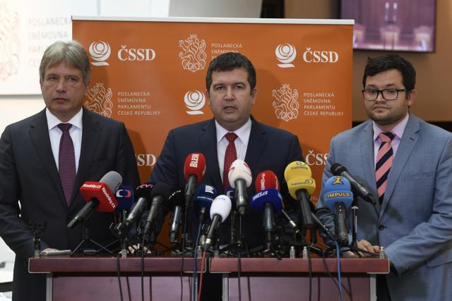Tisková konference ČSSD