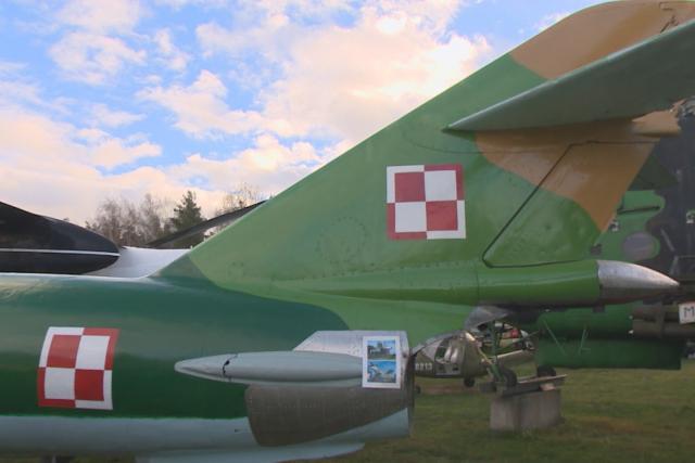 MiG-17 ve Zruči u Plzně