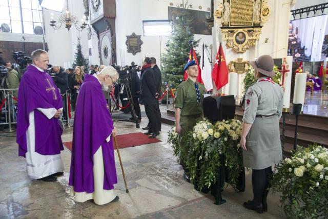 Pohřeb starosty Gdaňsku Pawla Adamowicze