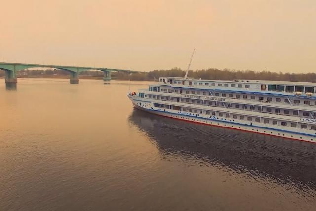 Loď na Volze