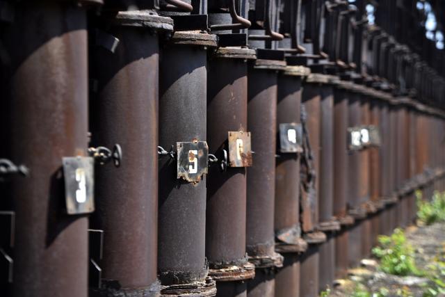 Bývalá koksárenská baterie číslo pět se stala součástí prohlídek Dolních Vítkovic