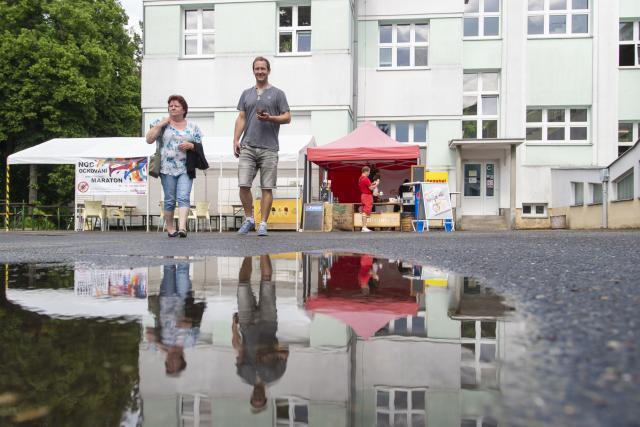 Očkovací maraton, Městec Králové