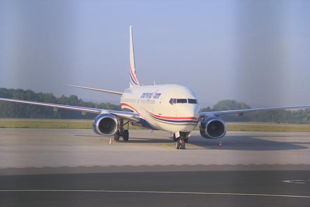 Letadlo po vyproštění