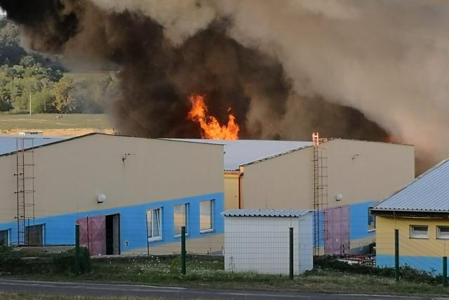 Požár v Příbrami