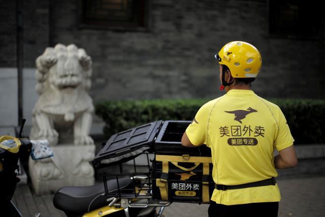 Kurýr čínské firmy Mej-tchuan