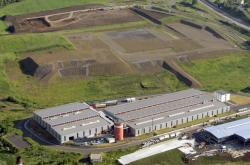 Průmyslová zóna v Ostrově na Karlovarsku