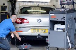 Měření emisí u Volkswagenu