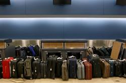 Kufry na letišti