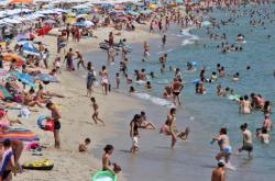 Jedna z bulharských pláží