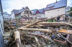 Německo zasáhly povodně