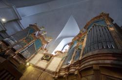 Varhany v piaristickém kostele v Litomyšli