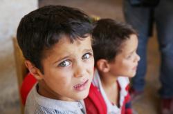 Děti uprostřed syrské války