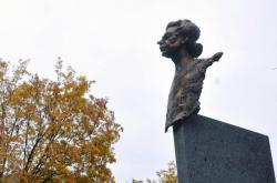 Pomník Milady Horákové na Pankráci