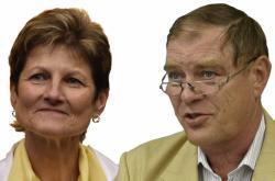 Jaromíra Vítková a Jan Machač