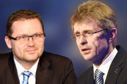 Miloš Vystrčil a Michal Stehlík
