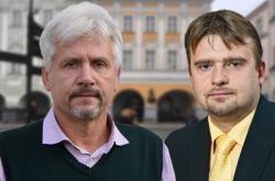 Petr Orel a Jaroslav Dvořák