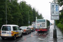 Vyhrazený jízdní pruh pro autobusy