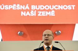 Bohuslav Sobotka na sjezdu ČSSD