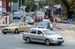 Oprava tranzitní silnice v Náchodě