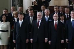 Vláda Bohuslava Sobotky po jmenování v lednu 2014