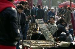 Ujgurský prodavač