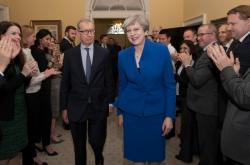 Theresa Mayová s manželem