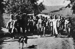 Pochod československé brigády ke Zborovu