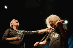 Michal Prokop a houslista Jan Hrubý
