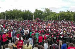 Demonstrace v Mali