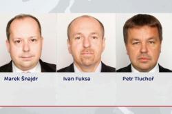 Marek Šnajdr, Ivan Fuksa, Petr Tluchoř