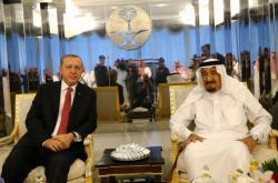 Erdogan se saúdským králem Salmánem