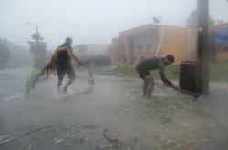 Hurikán Irma zasáhl už i Portoriko
