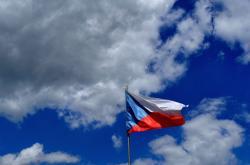 Český vlajka