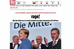 Bild o německých volbách