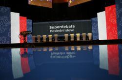 Předvolební Superdebata lídrů politických stran