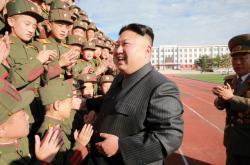 Severokorejský diktátor Kim Čong-un