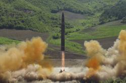 Severokorejská mezikontinentální raketa