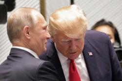 Prezidenti Donald Trump a Vladimir Putin