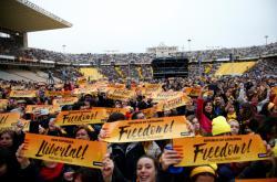 Koncert na podporu vězněných katalánských separatistů