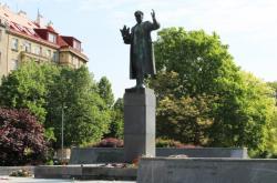 Socha maršála Ivana Koněva v Bubenči