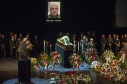 Poslední rozloučení s Mariánem Labudou