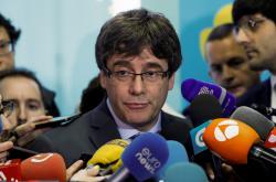 Sesazený katalánský lídr Carles Puigdemont
